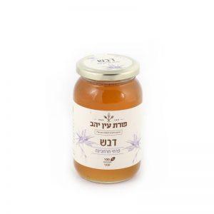 דבש פרחי חרחבינה 500 גרם